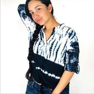 Cloth & Stone | tie dye blouse sz XS